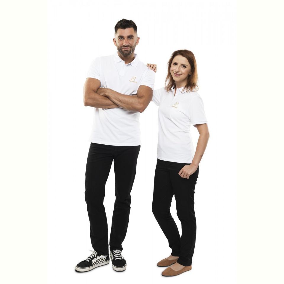 Harmonelo polo T-shirt women XL